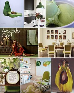Mood Board Monday: #Avocado (http://blog.hgtv.com/design/2014/01/27/mood-board-monday-avocado/?soc=pinterest)