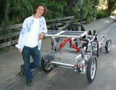 Solar-Powered Bike