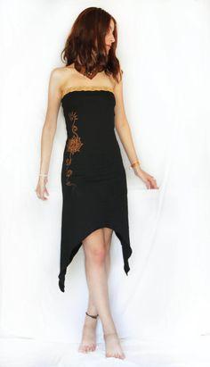 Lotus flower dress. Pixie dress long dress by AbstractikaCrafts, £36.00