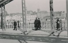 Bahnhofsbruecke in Stettin 1930er