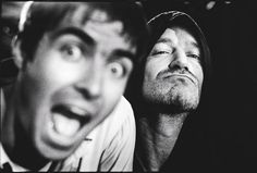 Liam and Noel Gallagher (Oasis) #oasis #gallagher