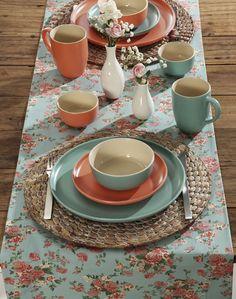 Copa&Cia - Linha Color Home: Bowls, xícaras e pratos em tons pasteis adornam a mesa e dão aos momentos mais singelos um toque extra de beleza na rotina.