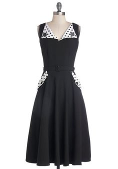 Energizing Charm Dress, #ModCloth Leave the collar, lose the printed pocket flaps, wear a colored belt