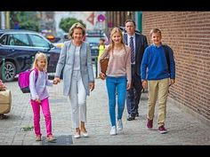 Queen Mathilde takes her children to school on the first school day Queen Mathilde takes her children to school on the first school day September 1 2016 Queen Mathilde of Belgium took her children that is Crown Princess Elisabeth Princess Eleonore and Prince Gabriel to St John Berchmans College in Brussels on the first school day. --------------------------------- subscribe for more videos : https://www.youtube.com/channel/UCRI8hHuxo-hCNAHRpVlkuzg blogger   : http://ift.tt/2aG9g8n Google…