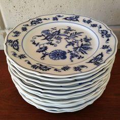 Blue Danube China Japan Set 12 Dessert Plates 7  Mint Condition | eBay & Blue Danube China Japan Set 6 Cereal Bowls 6