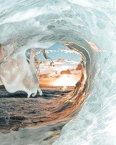 Sea - Fushion News Look Wallpaper, Ocean Wallpaper, Summer Wallpaper, Aesthetic Pastel Wallpaper, Aesthetic Backgrounds, Nature Wallpaper, Aesthetic Wallpapers, Surfing Wallpaper, Cute Wallpaper Backgrounds