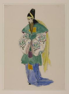 Charles Ricketts 'Costume Design for Tubal in 'The Merchant of Venice'', 1918