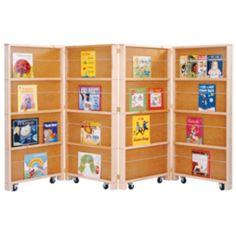 Jonti-Craft Mobile Library Bookcase -
