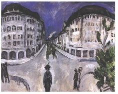Kirchner - Straße am Stadtpark Schöneberg - Ernst Ludwig Kirchner - Wikimedia Commons