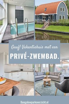 Bungalow, Luxe Villa, Outdoor Furniture Sets, Outdoor Decor, Staycation, Weekender, Where To Go, Netherlands, Beach House
