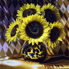 Art Work by Francois Chartier #sunflower #fine_art