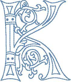Celtic Letter k   ... own custom designs uppercase letters click a letter for a closer look