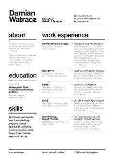 Using Resume Layout Advice Template Online Portfolio Design, Mise En Page Portfolio, Portfolio Web, Portfolio Resume, Personal Portfolio, Portfolio Layout, Modern Resume Template, Cv Template, Resume Templates