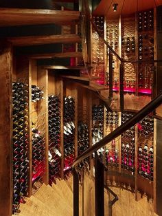 Queens Lane Wine Silo  Shop by Carney Logan Burke Architects