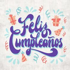 Birthday Clips, Girl Birthday, Happy Birthday Quotes, Happy Birthday Wishes, Happy Birthday In Spanish, Funny Letters, Wedding Letters, Happy B Day, Cute Crafts