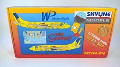 Plastic Aircraft Model Kit SKYLINE Boeing 737 - 300 The Simpsons Scale 1/144   Toys & Hobbies, Models & Kits, Aircraft (Non-Military)   eBay!