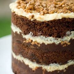 German Chocolate Cake Momou Style And A Recipe For Pecan Crunch