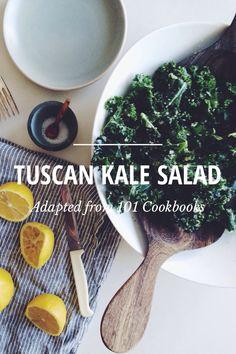 Tuscan kale salad.