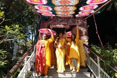 Beautiful Hill Station Wedding in Rishikesh With A Stunning Riverside Mandap! - Witty Vows Traditional Henna Designs, Wedding Dance Video, Destination Wedding, Wedding Venues, Wedding Function, Rishikesh, Hill Station, Portrait Shots, Event Photography