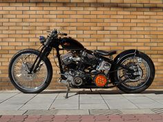 Harley Davidson Panhead By Motorcycles Force