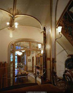 Art Nouveau Interiors | Art Nouveau Interiors > Lessing Photo Archive Hortavictor Livingroom ...