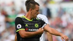 Terry out for 10 days with strained foot ligaments Chelsea Fc News, Chelsea Fans, Antonio Conte, Stamford Bridge, Swansea, Premier League, Liverpool, Like4like, Blues