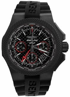 Buy Breitling Bentley Supersport Light Body Titanium Auto Mens Watch at online store Black Bentley, Bentley Car, Best Smart Watches, Cool Watches, Bentley Supersport, Breitling Bentley, Bentley Watches, Best Fitness Tracker Watch, Breitling Watches
