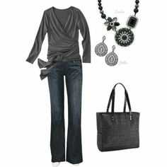 The Cindy tote from Thirty One goes with a lot of outfits!!