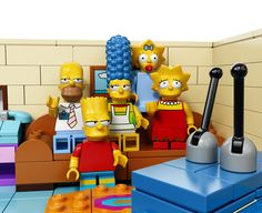 The Lego Simpsons Set