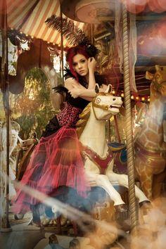 .carousel ride