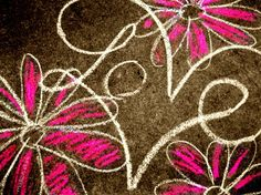 Valentine Chalk Art