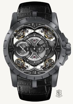 Roger Dubuis Excalibur Quatuor in Silicon - Limited Edition 3 pieces WOW