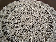 Extravagant doily by OlgaR1, via Flickr