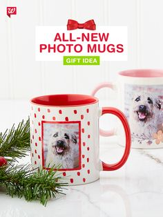 Customize a photo mug for everyone on your list this holiday! Our unique designs come in every color of the rainbow. Custom Photo Mugs, Walgreens Photo, Deck The Halls, Holiday Photo Cards, Quality Time, Christmas Presents, Rainbow Colors, Gifts For Friends, Make Your Own