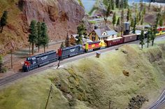 If you're that serious with model railway layouts, you can try making a replica of a real railway. Description from modelrailwaytrains.org. I searched for this on bing.com/images