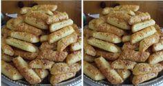 Chutné tyčinky z kyslej smotany: Toto ide u nás na dračku, aj 3 plechy sú málo! Slovak Recipes, Pizza, Fondant Cupcakes, Biscotti, Ham, Sausage, French Toast, Snack Recipes, Deserts