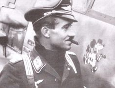 """Beyond cool. Adolf """"Dolfo"""" Galland is said to have asked Hermann Göring for a squadron of Spitfires when asked what he needed to win the air war. Hated by the Nazi leadership, Galland was an ace among aces and a gentleman among gentlemen."""
