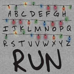 Stranger Things (run) | Unisex T-Shirt