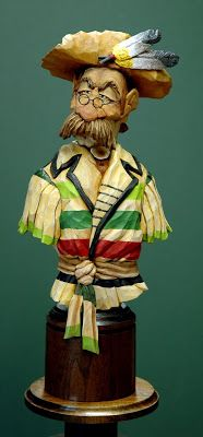 OutWestWoodCarving: Wind River Willie