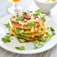 I absolutely adore this butternut squash cheesy corn cake recipe right now and all that it embodies. I like to think of it as my horrible attempt at hanging on to the end of summer and embracing the start of fall. Corn and butternut squash…can there be... #autumn #beerandfoodpairing #breakfast