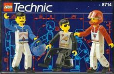 Lego Technic 8714 The LEGO TECHNIC Guys