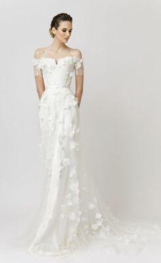 Featured Dress: VAMP MADOS NAMAI; Wedding dress idea.