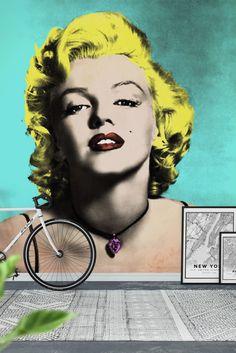 Marilyn Monroe Wall Mural - Wallpaper