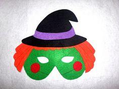 Ideas para disfrazarse en Halloween: Máscaras de fieltro