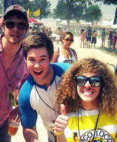 My men! Ders, Blake, and last, but not gay, Adam!
