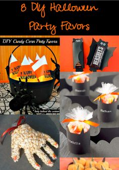 DIY Halloween Party Favors