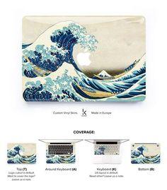 Great Wave of Kanagawa MacBook Skin at Keyshorts.com