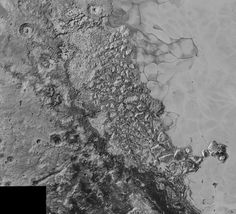 Range of Surface Features on Pluto
