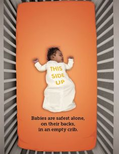 Do you know the ABC's of safe sleep for babies and infants? http://1.usa.gov/1i8mapM