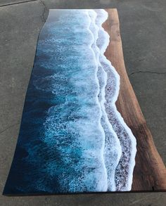 Coffee Table Height, Walnut Coffee Table, Coffee Tables, Resin Crafts, Resin Art, Wood Crafts, Jared Davis, Wood Resin Table, Wood Tables